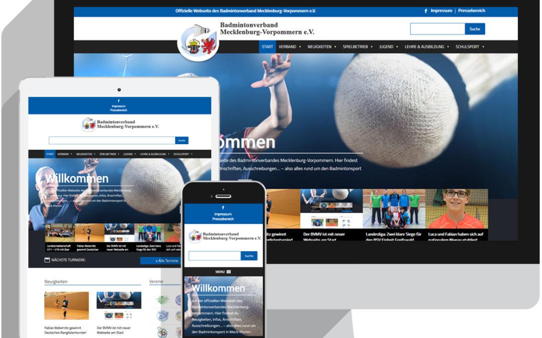 Der BVMV ist mit neuer Webseite am Start
