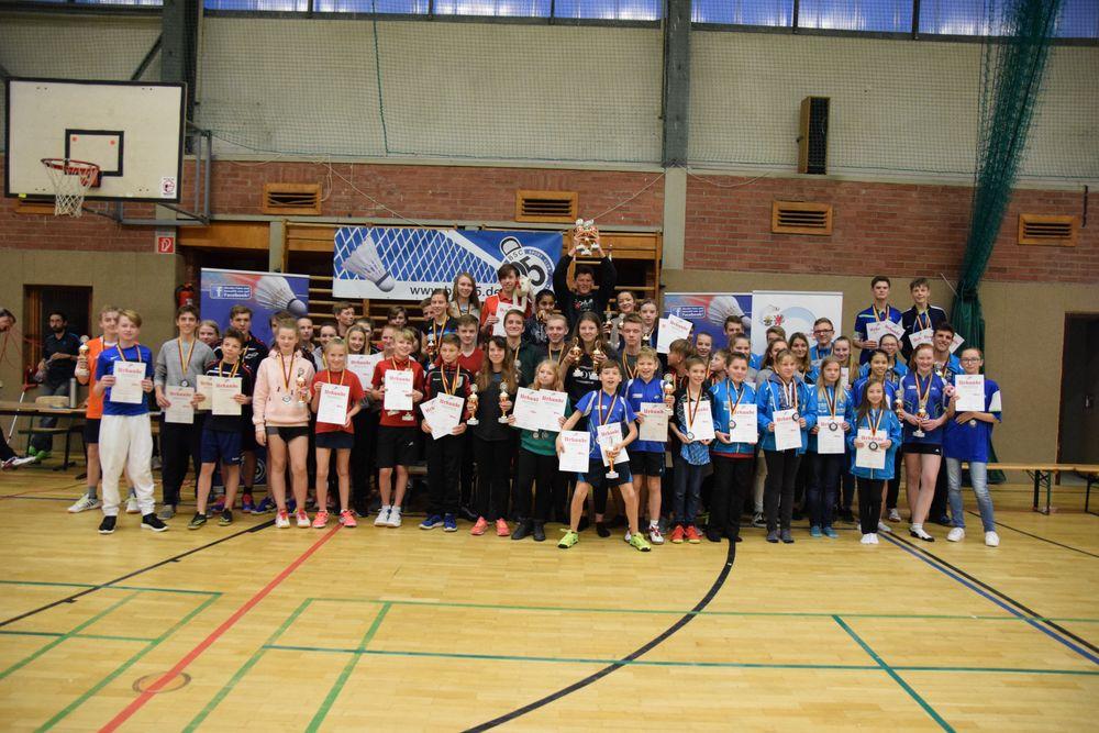 Landesmeisterschaft U11 – U19 mit über 100 Spielern aus 11 Vereinen