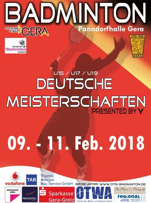 Bericht Deutsche Meisterschaft U15-U19