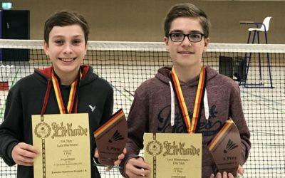 Deutsche Meisterschaften U15 – U19: Bronze für Luca Wiechmann