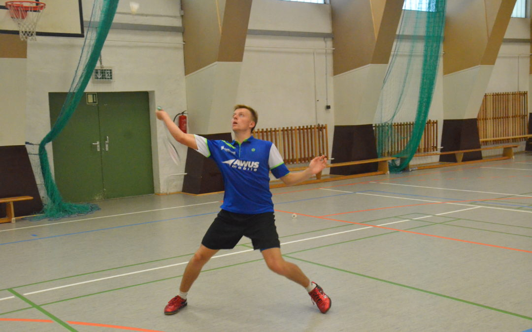 1. Norddeutsche Rangliste U17/U19: Doppelerfolg für Fabian