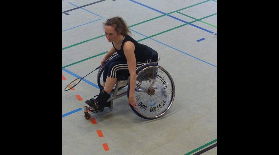 Sonja Bade Deutsche Meisterin im Para-Badminton