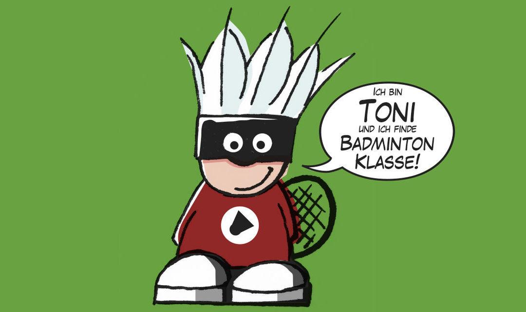 Badmintonabenteuer mit Toni
